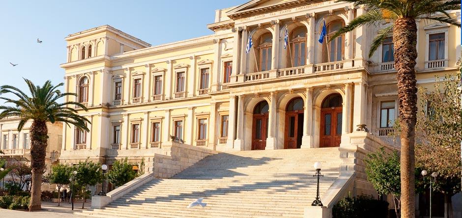 Δημαρχείο Σύρου στην Ερμούπολη